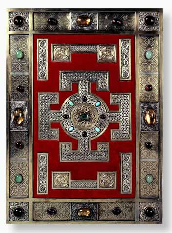 The Lindisfarne Gospels Cover